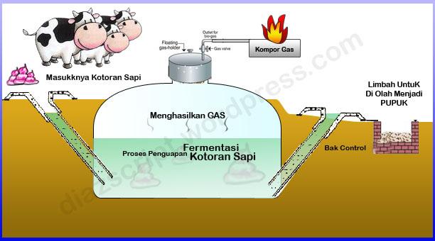 biogas adalah energi alternatif yang berasal dari