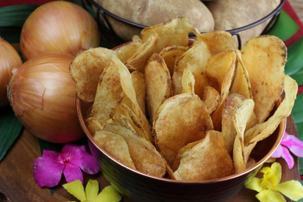 resep membuat keripik bawang