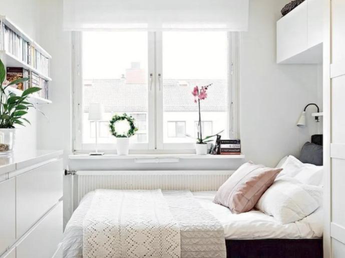 desain kamar tidur minimalis ukuran 3x4 dua