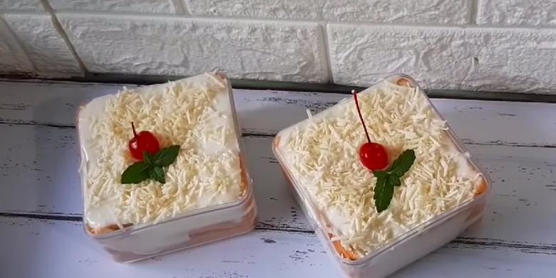 Cara Membuat Stup Roti Tawar Dessert Box